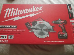 Milwaukee 2992-22 M18 Brushless 2-Tool Combo Kit for Sale in Renton, WA