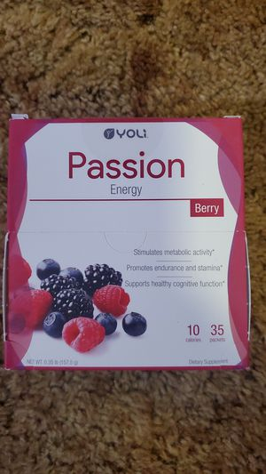 yoli passion energy for Sale in Sacramento, CA