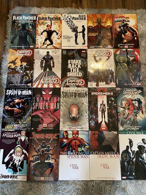 Marvel Graphic Novels. for Sale in Morrisville, NC