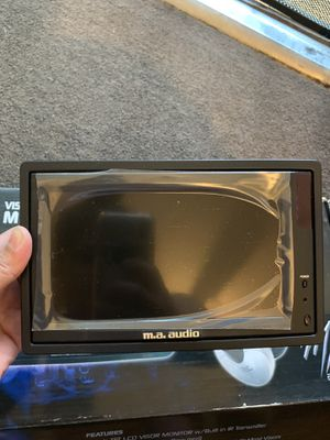 M.a. audio 7 inch visor/headrest monitor for Sale in South Gate, CA