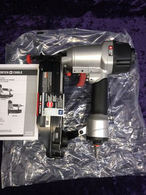 💥🧰🛠brand new Porter cable 16ga 2-1/2 in compressor nail gun! $80 this weekend for Sale in Irving, TX