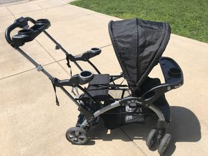 Baby Trend Sit n Stand Double Stroller for Sale in Swansea, IL