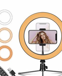 """Ring Light 10"""" Tripod/Phone Holder for Sale in San Diego,  CA"""