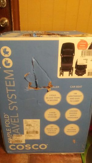 Baby stroller . and a car seat for Sale in Mesquite, TX
