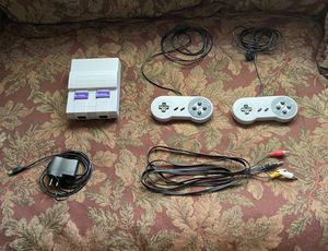 New SNES with 400$ Games (Barely Used and in Good Condition for Sale in Edison, NJ