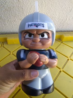 New england patriots drink cup for Sale in Baldwin Park, CA