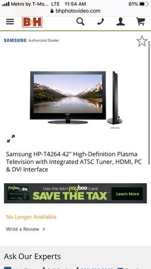 """42"""" Samsung Tv for Sale in The Bronx, NY"""