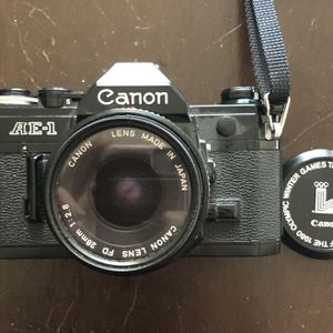 Rare All Black Canon AE-1 50MM 1-1.8 Mint Condition for Sale in Murfreesboro, TN