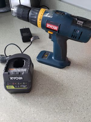 Ryobi Drill/Battery/Charger for Sale in Greenbelt, MD