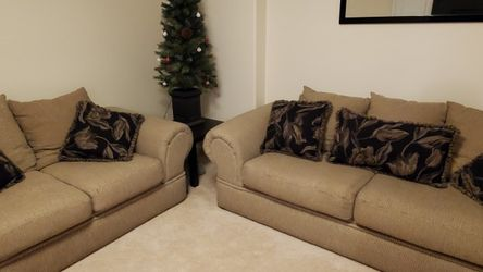 Ashley Sofa And Love Seat Set With Pillows for Sale in Washougal, WA