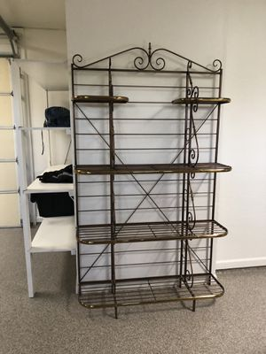 Bakers Rack Solid Brass for Sale in Scottsdale, AZ