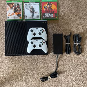 Xbox One (1TB) + Games Included for Sale in Cary, NC