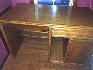 Oak Veneer Desk for Sale in Erie, PA