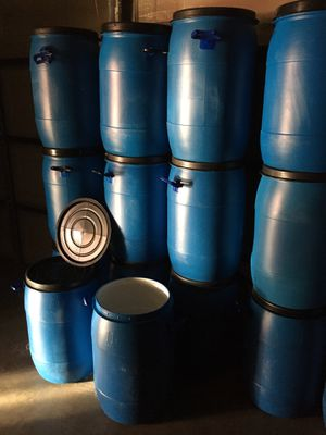 Barrels 10 gallons food grade clean for Sale in Anaheim, CA