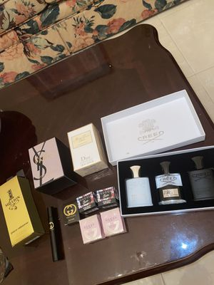 AUTHENTIC DESIGNER COLOGNES AND PERFUMES $65 EACH (Creed Aventus, Miss Dior, YSL, 1 Million, Gucci Guilty/Gucci Bamboo/Gucci Flora) for Sale in Dallas, TX