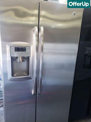 🚚💨Counter Depth GE Refrigerator Fridge Works Perfect #837🚚💨 for Sale in Rialto, CA