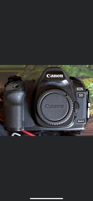 Canon 5d mk2 with 50mm lens for Sale in Fresno, CA