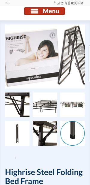Twin Structures Highrise Folding Bed Frame for Sale in Seattle, WA