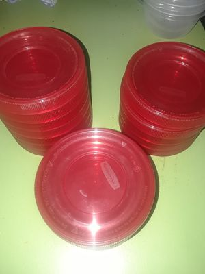 RUBBERMAID TAKE ALONGS FOOD STORAGE CONTAINERS for Sale in Duncanville, TX