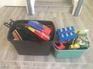 Train tracks , puzzles , books , etc ( FREE) for Sale in San Diego, CA