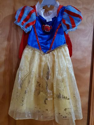 Disney snow white costume for kids size 3 toddler for Sale in East Hartford, CT