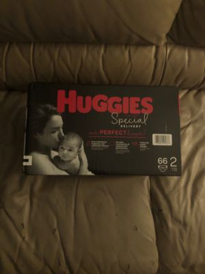 Huggies 66ct size 2 Diapers for Sale in Philadelphia, PA