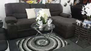 New sleeper sectional sofa grey for Sale in Miami Gardens, FL