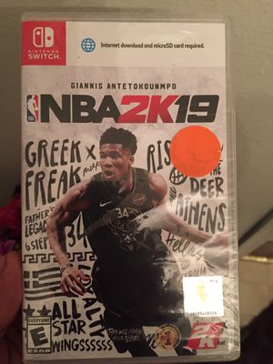 NBA 2K19 (Nintendo Switch) for Sale in Sudley Springs, VA