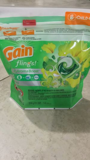 Gain Fling Pods, 14 count for Sale in San Diego, CA