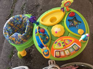 Baby saucer activity table for Sale in Chicago, IL