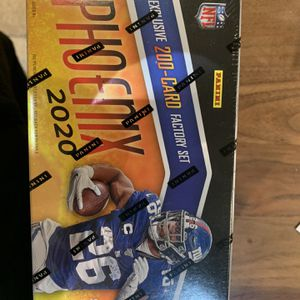 2020 Panini Phoenix Football Factory Set - Factory Sealed Box - Football Wax Packs for Sale in Compton, CA