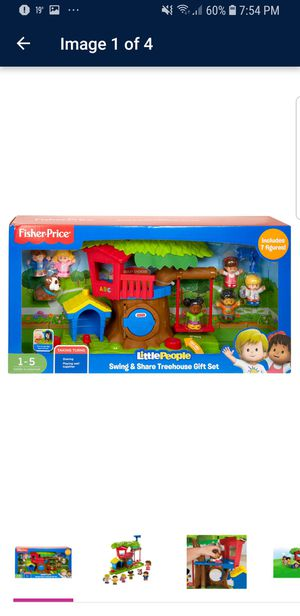 Little People Swing & Share Treehouse Gift Set for Sale in Vestal, NY