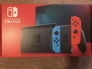 Nintendo Switch 32GB blue and red for Sale in Ann Arbor, MI