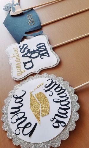 Glitter Graduation Photo Props for Sale in Chula Vista, CA