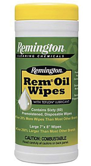 Interstate Arms Corp Remington Rem Oil Wipes, Pop Up (7 x 8-Inch) for Sale in Los Angeles, CA