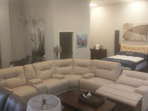 Reclining Power Sectional NEW for Sale in US