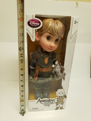 DISNEY ANIMATORS COLLECTION - Kristoff for Sale in Pittsburgh, PA