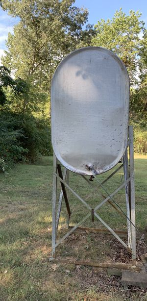 Oil tank with some oil for Sale in Appomattox, VA