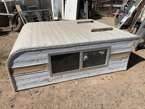Truck camper $50 used. No title. Short bed trailer . for Sale in Phoenix, AZ