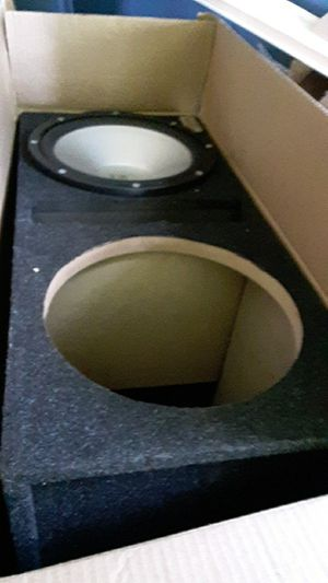 Subwoofer box for Sale in Maynard, MA