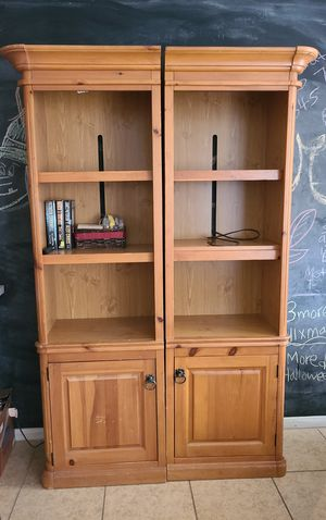Bookcases with light for Sale in Hemet, CA