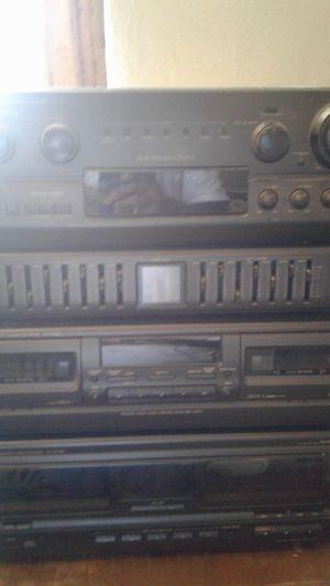 TECHNICS AV AMPLIFIER SU-G88 COMPLETE TECHNICS STEREO SYSTEM for Sale in Avondale, AZ