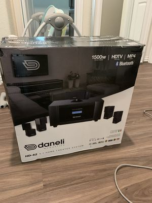 Daneli Home Theater System for Sale in Richmond, TX