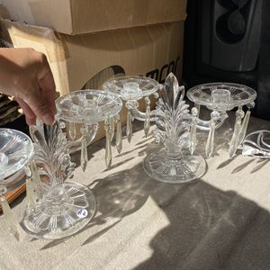 Antique Table Top Crystal Candelabra for Sale in Dallas, TX