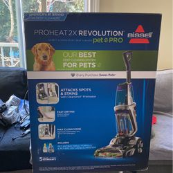 BISELL PRO HEAT 2X REVOLUTION PET PRO for Sale in San Francisco,  CA