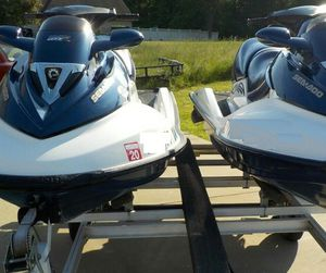 2Jetskis_SEADOO155 +TraiIer1500$ ! for Sale in Houston, TX