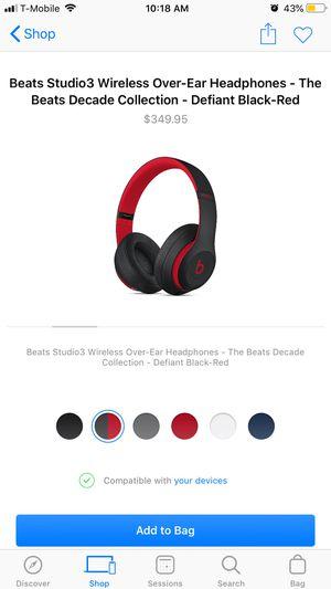 Beats Studio 3 wireless for Sale in Del Valle, TX