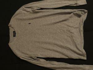 Grey Ralph Lauren Long Sleeve Medium for Sale in Los Angeles, CA