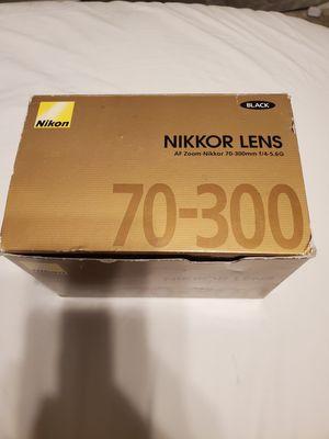 Nikon nikkor lens for Sale in Murfreesboro, TN