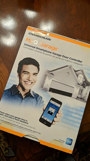 MyQ Garage door opener by Chamberlain wifi or cell phone for Sale in Charlotte, NC